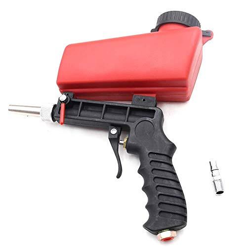 Panthem Pneumatische Sandstrahlpistole, klein, Handgerät, tragbar, pneumatisch, Sandstrahlpistole, Sandstrahlpistole, Schleifstrahlgerät
