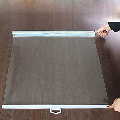HAOHAO Lona impermeable transparente de 120 cm de ancho, con ojales y lonas, resistente a la intemperie, plegable, para pérgola, rollo de techo, 120 × 150 cm de ancho