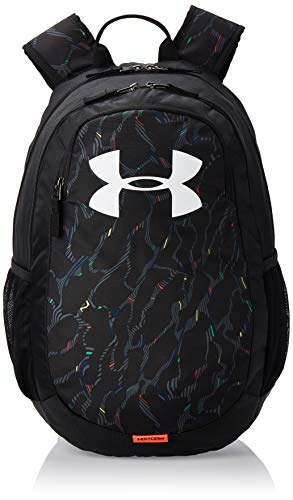 Under Armour UA Scrimmage 2.0 Backpack, Zaino Unisex, Nero, Taglia Unica