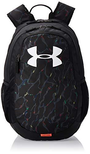 Under Armour UA Scrimmage 2.0 Backpack, mochila unisex, mochila resistente al agua unisex, Negro, One Size