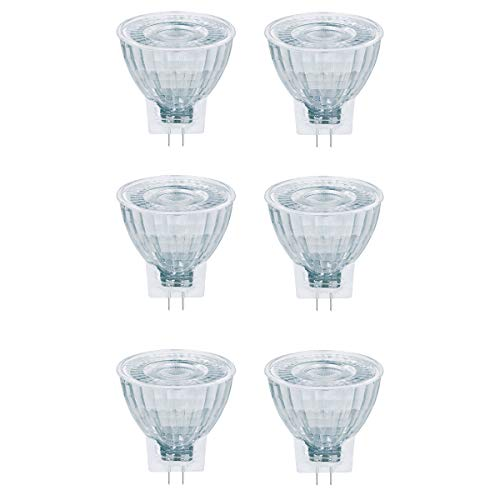 OSRAM LED STAR MR11 20 36° GU4 GLAS 2,5W=20W 184 lm warm white 2700 K nondim 6er