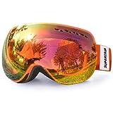 Supertrip Skibrille Damen Herren Snowboardbrille...