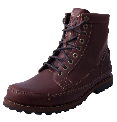Hot Sale Timberland Men's Earthkeepers 6 Inch Original Boot,Red Brown,10.5 W US