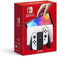 Nintendo Switch™ (OLED model) with White Joy-Con