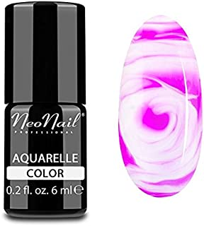 neonail híbrida Manicura UV LED Uñas Gel Polish Soak Off Aquarelle fucsia Nail Art 6ml