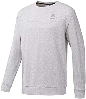 Reebok Men' Mens Double Knit Crew Neck Shirt ARMCS18045-P