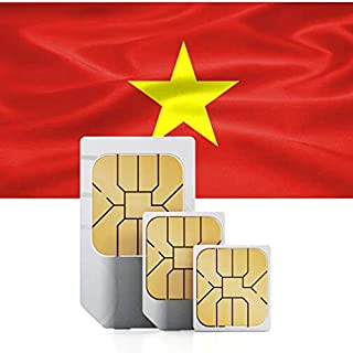 プリペイドデータSIMカードベトナム1GB 71以上の国で使用可能 30日間 3 GB for 60 days