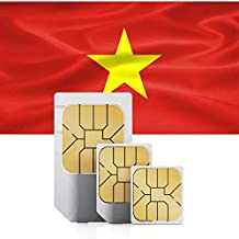 Prepaid Data SIM Card for Vietnam 12GB Works in 71+ Countries Valid for 30 Days