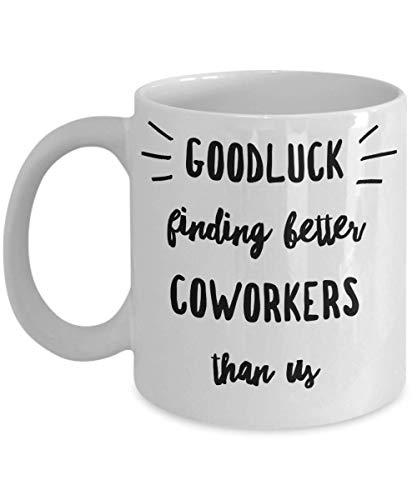 N / A weggehen für Mitarbeiter - Mitarbeiter gehen - Abschied für Mitarbeiter - Abschied für Mitarbeiter - Chefbecher - für Mitarbeiter verlassen