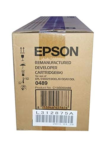 EPSON EPL-5900/6100 Remanufactured Developer Cartridge 6k