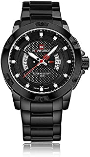 Naviforce Casual Watch For Men Analog Leather - NF9085
