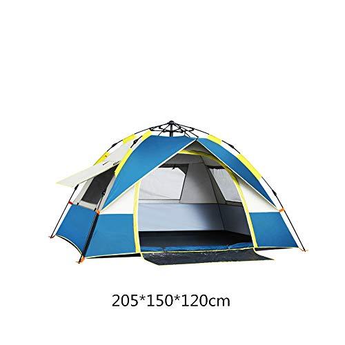 BYDBELT Kuppelzelt 2-3 Personen Zelt,Campingzelt,leichtes Trekkingzelt, Tunnelzelt wasserdicht Tarnzelt 200 * 150 * 130cm