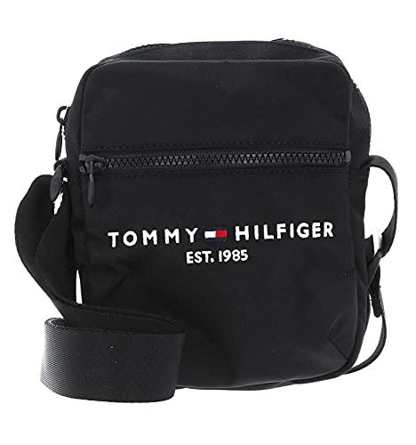 Tommy Hilfiger Herren TH Established Mini Reporter, Schwarz, Medium