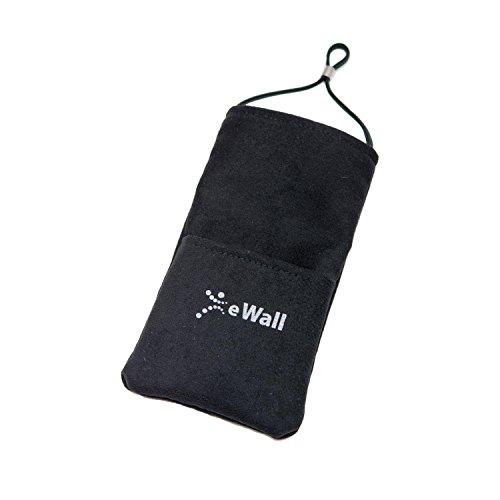 eWall Strahlenschutz Handytasche Classic, schwarz, Größe XXL, z.B. für iPhone 6 Plus, HTC 10, Galaxy S7 Edge