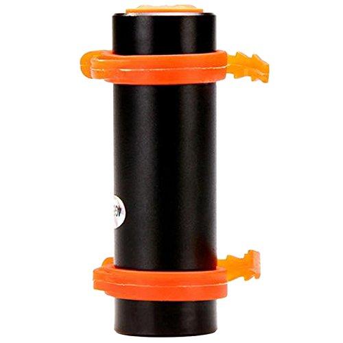 REFURBISHHOUSE 4GB USB Reproductor de MP3 a Prueba de Agua para Natacion Buceo Surf Negro con Auriculares Radio FM