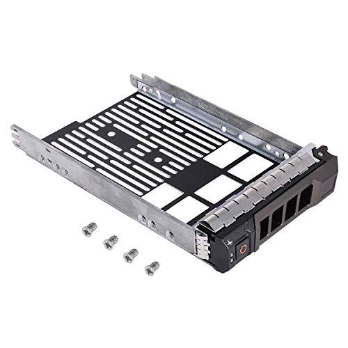3.5 F238F SAS SATA SATAu Hard Drive Caddy Tray, Compatible with DELL PowerEdge R710 R610 R515 R510 R415 R410 R320 R310 T710 T610 Part Number: 0F238F F238F X968D 0X968D G302D 0G302D