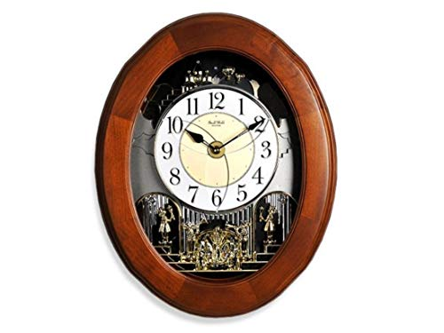 Quartz Wall Clock (6 MELODIES & 4 X-MAS (CTC Sound), Hourly Melody,...