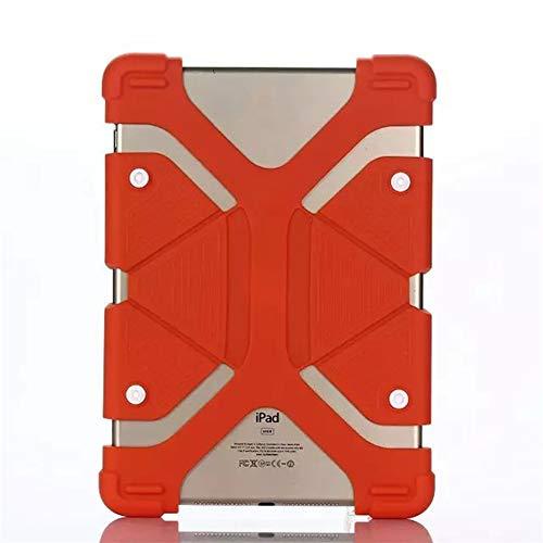 QiuKui Tab Funda 7.9-9 Pulgadas Multi Color Prueba de Golpes Anti Resistencia a la caída de la caída de la Tableta de la Tableta de la Tableta de la Tableta Universal (Color : Orange)
