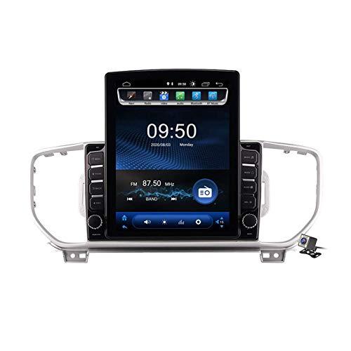 Android 9.0 Radio estéreo para automóvil compatible con Kia KX5 / Sportage 2016-2018 Navegación GPS Unidad principal de pantalla vertical de 9.7 pulgadas Reproductor multimedia MP5 Video con 4G WiFi