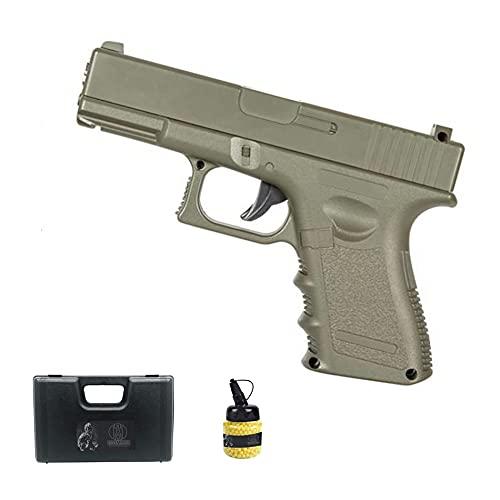 Pistola Galaxy G15 Desert (Muelle) | Pistola de Airsoft (Bolas de plástico 6mm) + maletín de PVC + biberón de munición