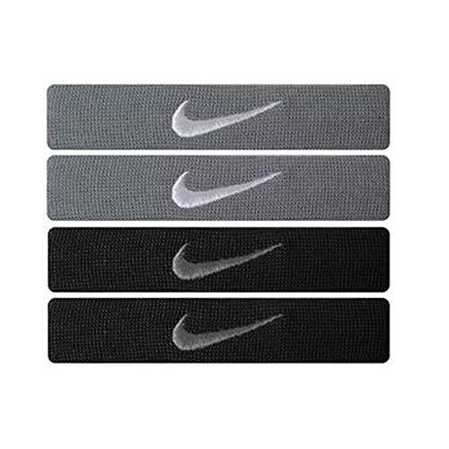 Nike Home And Away Dri-Fit Fasce, Uomo, 9.307.001.002, Grey/Black, Taglia Unica (Uomo)