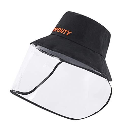 Goosuny Sombrero Protector Anti-Escupir Protective Cap Sombrero De Pescador Cubierta Protection Safety Full Face Shield For Men Women Anti-Fog Breathable