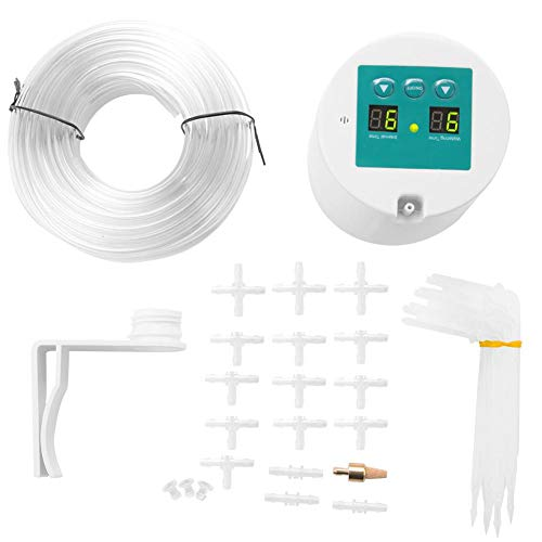Wifehelper Micro Automatic Garden Drip Irrigation Timer System Kit per Irrigazione Automatica Balcone Office Home