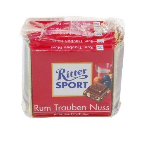 rum trauben nuss schokolade