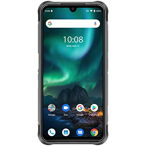 """UMIDIGI Bison Rugged Unlocked Cell Phones 8+128GB, IP68 & IP69K Rating Waterproof and Dustproof Smartphone, 6.3"""" FHD+ Full Screen Cell Phone with 5000mAh Battery and 48MP Quad Camera"""