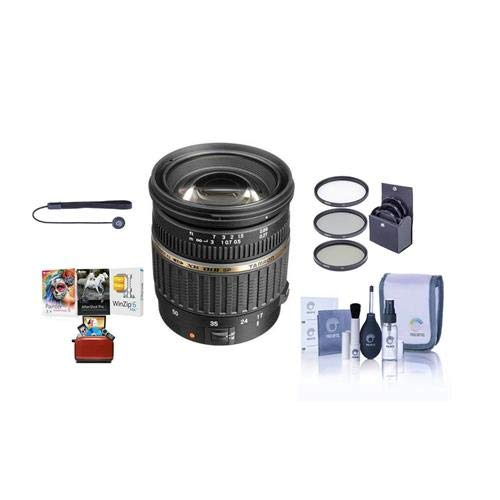 Price comparison product image Tamron SP AF 17-50mm f / 2.8 XR DI-II LD Aspherical (IF) Standard Zoom Lens for Pentax - Bundle with 67mm UV Filter,  Cleaning Kit,  Capleash II,  Mac Software Package