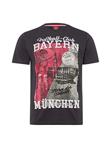 FC Bayern München T-Shirt Heimat anthrazit L