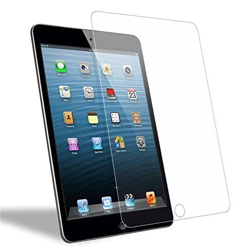 WEOFUN Panzerglasfolie für iPad Mini 3/2/1,Panzerglas kompatibel mit iPad Mini 3/ iPad Mini 2 / iPad Mini 1 [ 9H Festigkeit Bildschirmschutz, Anti-Kratzen, Anti-Öl, Anti-Bläschen ]