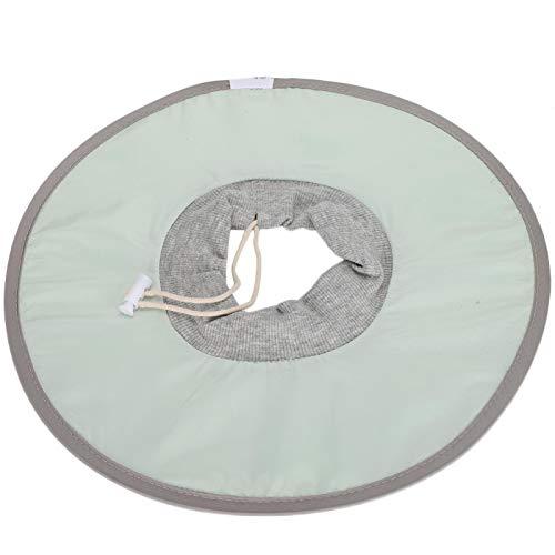 SALALIS Collar Ligero Transpirable para Gatos Elizabeth, 3 tamaños para Gatos y Perros después de la cirugía(M)