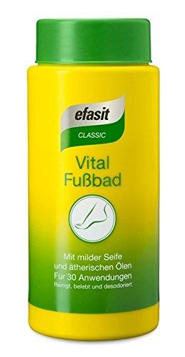 efasit CLASSIC Vital Fußbad, (3x400 g)
