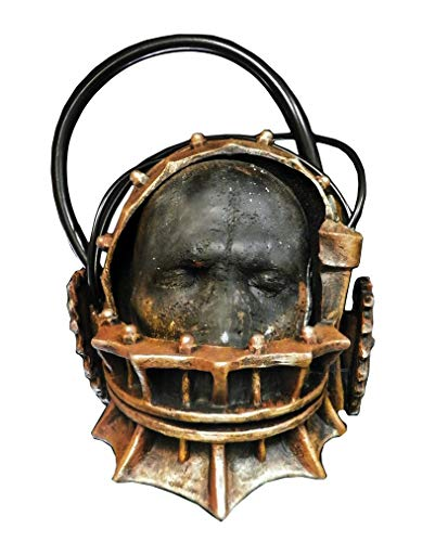 Horror-Shop Lizenzierte Saw Bärenfalle Maske