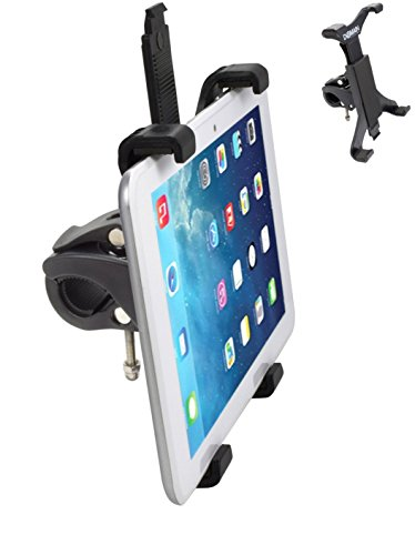 Domain Cycling Tablet Mount for Spin Bike & Exercise Bicycle Handlebars, iPad Holder