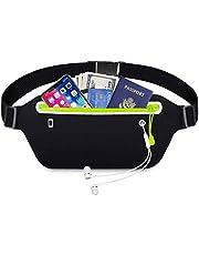 Lrikas Loopriem, waterdicht, voor training, reizen en meer, met reflecterende strepen en gat voor hoofdtelefoon, verstelbaar voor alle soorten mobiele telefoons
