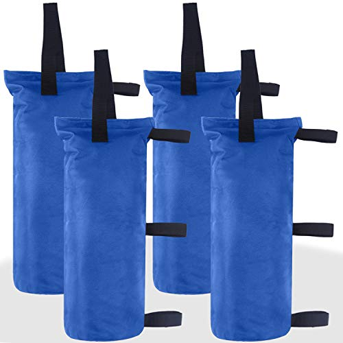 ABCCANOPY Sand Bags Canopy Tent Weights,4 Pack (Blue)