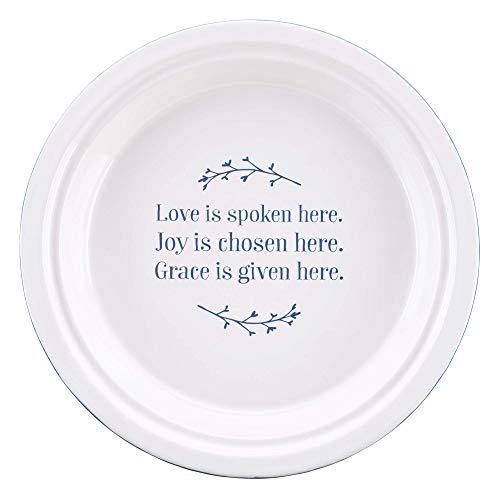 Love Joy Grace - Plato de cerámica para tarta