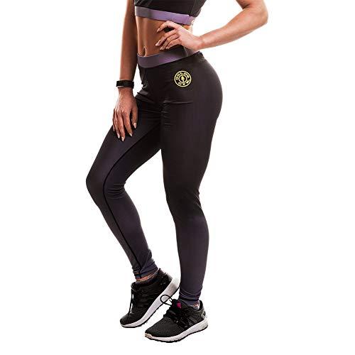 Gold's Gym GGLPNT049 Pantalones, Mujer, Gris, M