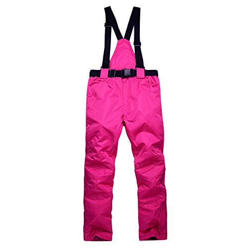 GTRR Pantaloni da Sci Invernali per Uomini E Donne Coppie Impiallacciatura E Doppio Bordo Antivento Impermeabile E Pantaloni da Sci Addensati al Caldo,Pants 6l