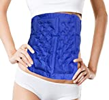 CRYOBOD Body Shaper Cool Body Sculpting Wrap Fat Freezing Body Sculpting System Fat Wrap Cold Ice Belt Non invasive Fat Appearance Remover 29in to 36in Waist For Men and Women Royal Blue