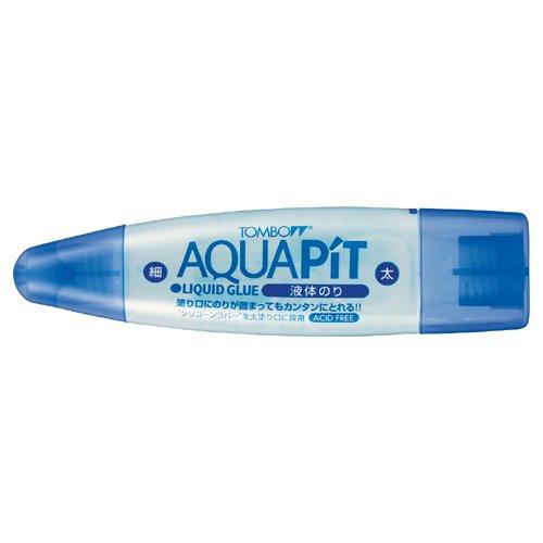 トンボ鉛筆 液体のり アクアピット PT-WT 10個セット