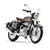 Royal Enfield Gun Grey Bike Miniature/Scale Model (RLCSML000006)