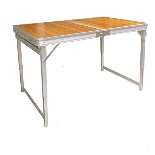 Peaceip Table Pliante Table de Pique-Nique Table Portable Table Pliante en Alliage d'aluminium Table de Barbecue Table de Bureau Table de Petit déjeuner Pliante Table de Repas et Cuisine Pliante