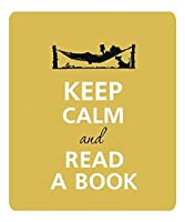 落ち着いて本を読む滑り止めコンフォートマウスパッド