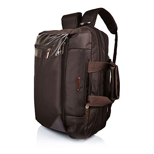 Suntop Men's Nylon Dexter 16 Ltrs For Upto 15.6' Laptop Bag chocolate brown