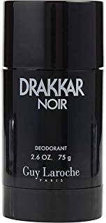 DRAKKAR NOIR by Guy Laroche DEODORANT STICK 2.6 OZ for MEN ---(Package Of 2)