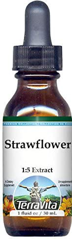 Tucson Mall Strawflower Glycerite Liquid Extract 1:5 - 1 No oz Flavor Rapid rise ZI