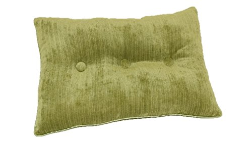 Brentwood Originals 1540 Concord Pillow, 14 by 20-Inch, Green